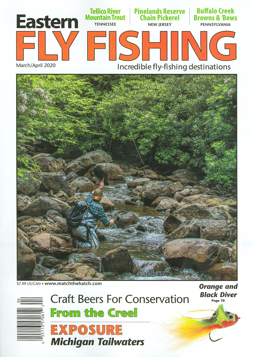 Eastern Fly Fishing article about Antrim Streamside