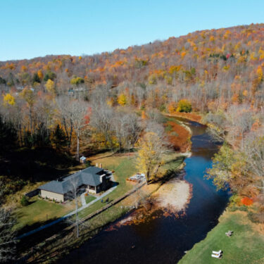 River House Drone View